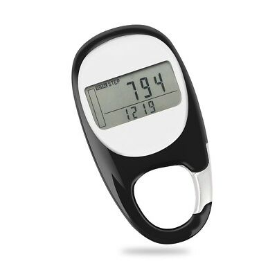 Step Counter 3D Walking Pedometer Activity Fitness Tracker Multi-Function Pocket