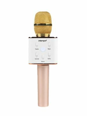 Karaoke microphone intempo bluetooth wireless christmas party gift