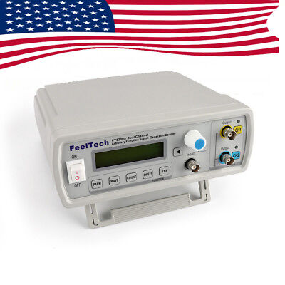 US Dual-Channel 24MHz FY3224S Signal Generator Arbitrary Waveform DDS Function