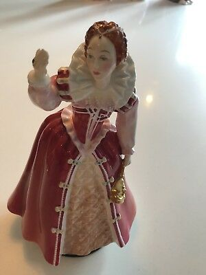QUEEN ELIZABETH 1 FIGURES from ROYAL DOULTON COLLECTION QUEENS Of THE REALM