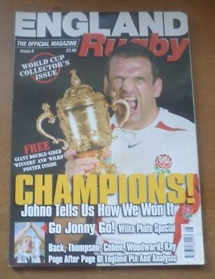 England Rugby Magazine, Issue 8 (World Cup 2003 - Collector's Issue).