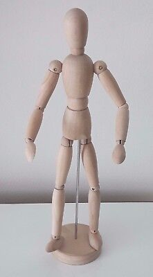 IKEA-13-034-Artist-Drawing-Sketch-Figure-Model-Wood-Mannequin-Poseable-GESTALTA