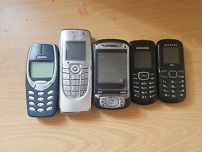 Mobile Phone Joblot Nokia Samsung Alcatel