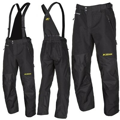 Klim Powerhawk Non Insulated Snowmobile Gore-Tex Mens Cold TALL Pants/Bibs