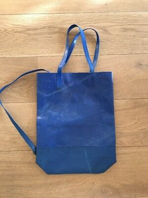 Freitag G5.1 Tote Bag. Blue. Unisex. Brand New