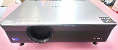 SONY VPL-CX100 PROJECTOR 2,700 Lumens Speakers - 1x 1W Mono 1211 LAMP HOURS USED