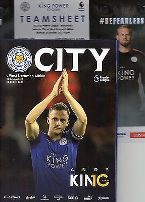 Leicester City v West Bromwich Albion 16.10.2017