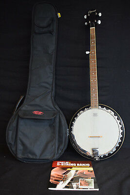Ozark 5 String Banjo with Carry Case