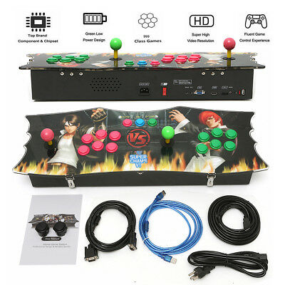 999 In 1 Arcade Game Console Machine Pandora's Box 5S+ KOF Video Fight Games