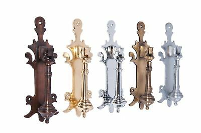 """Hounslow Park"" Door Knocker Traditional Knocker in 5 Finishes"