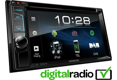 Kenwood DDX4018DAB Double Din Car Stereo FM USB AUX DAB iPhone Android Spotify