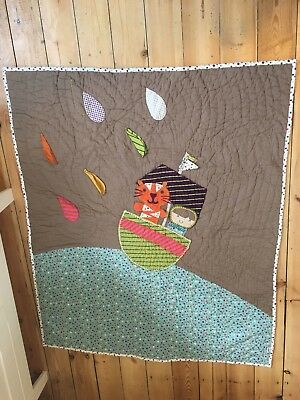 Mamas & Papas quilted cot blanket