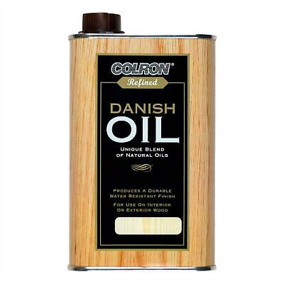 Colron Refined Danish Oil - 500ml - All Different Variations - FREE DELIVERY