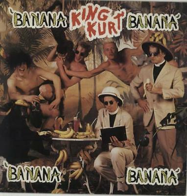 "Banana Banana King Kurt UK 12"" vinyl single record (Maxi) BUYIT206 STIFF 1984"