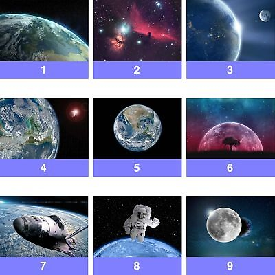 Space Planets Stars Astronaut Wall Mural Photo Wallpaper SP-WM