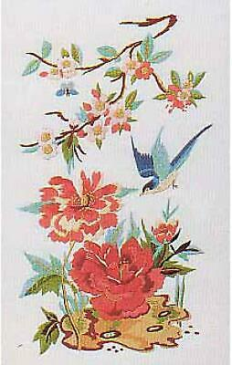 Design Perfection Freestyle Embroidery Kit - Oriental Pink Peony