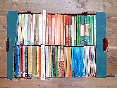 Job Lot 70 Assorted Vintage Penguin,Puffin, Pelican paperbacks
