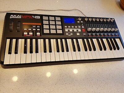 AKAI MPK49 - Performance MIDI Controller With MPC Drum Pads