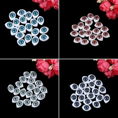 20PCs Plastic Teddy Doll Safety Eyes For Animal Toy Puppet Making DIY Craft