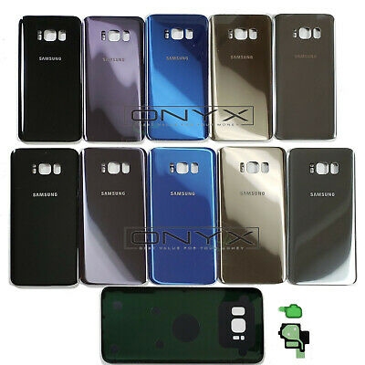 New Back Rear Glass Replacement BATTERY COVER For Samsung Galaxy S8 / S8+ Plus