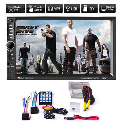 """Double 2 Din 7"""" Car Stereo In Dash Radio MP5 Player DVD for Android FM Player"""