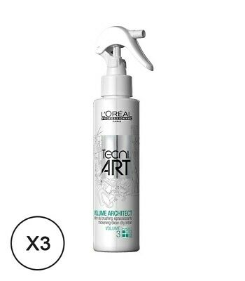 L'Oréal Professionnel Tecni-Art Volume Architect Spray 150ml x3