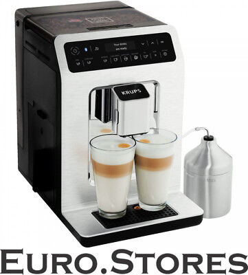 KRUPS EA893C Evidence Bluetooth Coffee Machine Black/Chrome 15Bar 1450W Genuine