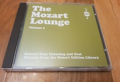 The Mozart Lounge vol 2 -Various Artists CD -label Apollo sound-NEW OLD STOCK