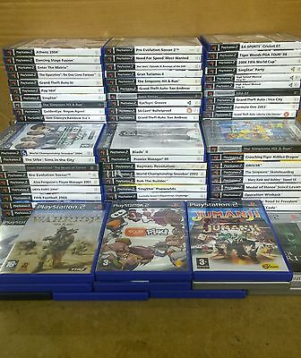Job Lot of 100 Playstation 2 PS2 Games - Perfect for Car Boot/Resale