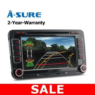 "7"" DVD GPS Sat Nav for VW Golf MK5 6 EOS Skoda Caddy Seat Passat Canbus touran"