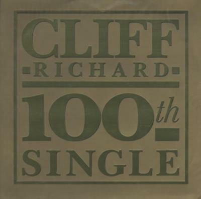"The 100th Single - Gold Em... Cliff Richard UK 12""  record (Maxi)"