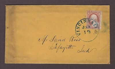 mjstampshobby 1898 US Vintage Cover with Letter Used (Lot4750)