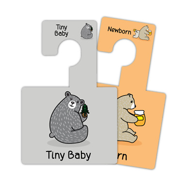 BABY WARDROBE DIVIDERS | Baby Clothes Organisation | Little Pals Hangers | Pk 7