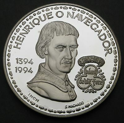 PORTUGAL 200 Escudos ND(1994) Proof - Silver - 65