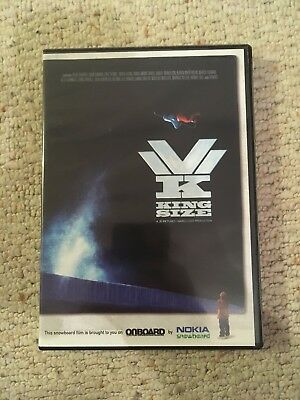 King Size Snowboard Snowboarding Dvd. Great Condition. Santa Cruz, Burton, Nitro