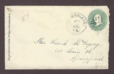 mjstampshobby 1883 US Vintage Cover Used (Lot4765)