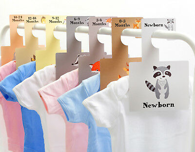 BABY WARDROBE DIVIDERS | Little Pals Hangers Organisers | Baby Pregnancy Gift