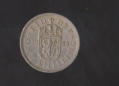 1955 Scottish Shilling