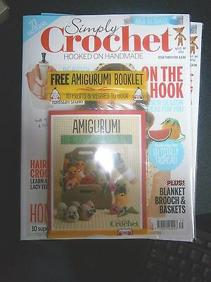 Simply Crochet Magazine Issue 35 With Free Gift (new)