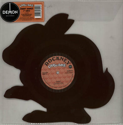 Chas & Dave shaped picture disc  Rabbit - Brown vinyl - Rec... UK