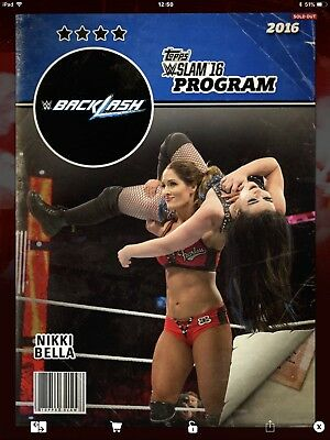 Topps WWE Slam Digital, Backlash Program,  Nikki Bella