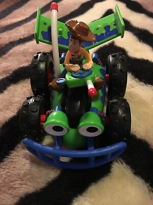 Toy Story Pull Back RC and Woody