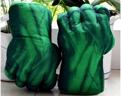 New 2Pcs/Set Boxing Hulk Gloves The Boxer Gloves Soft Plush Toys Gifts
