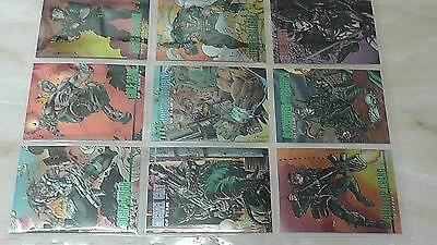 WILD C.A.T.s  -  THE  ANIMATED  SERIES  /  WILDSTORM  SET  1  -  1994