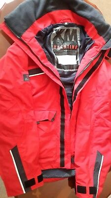 Offshore sailing jacket red size M