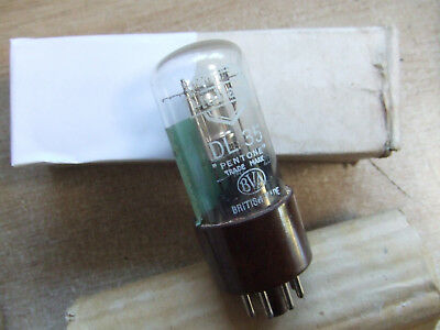 New Old Stock Mullard DL35 : 1C5G 1C5GT CV1803 N14 EX BBC Valve Section