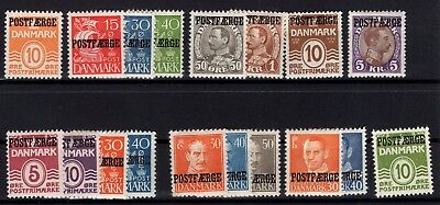 P44141 / Danemark /denmark / Postage Due / Lot 1930 / 1953 Neufs * / Mh 85 €