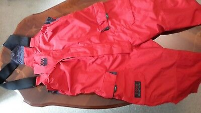 Offshore sailing trousers red size M