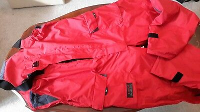 Offshore sailing trousers red size XXL