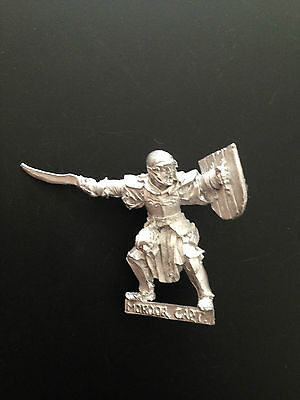 Warhammer Lord of The Rings LOTR - Mordor Orc Captain Pose 1 Metal OOP